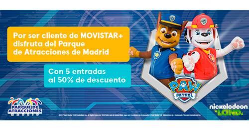 Parque de Atracciones de Madrid al 50%