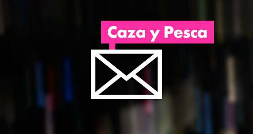 Newsletter canal Caza y pesca