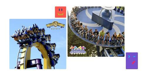 Ganadores 'Concurso Parque de Atracciones y Parque Warner'