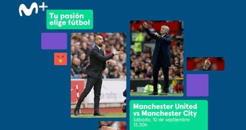 Premier League, Manchester United, Manchester City, Movistar+