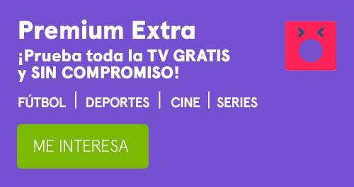 En octubre, Premium Extra 2 meses gratis