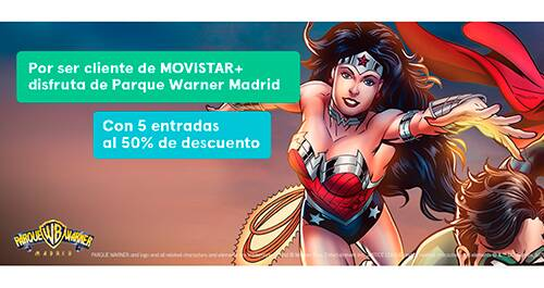 Parque Warner Madrid al 50%