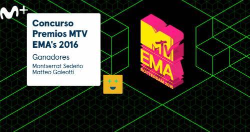 Ganadores 'Premios MTV Ema´s 2016'