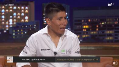 Late Motiv: Entrevista a Nairo Quintana #LateMotiv113 | #0