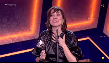 Mejor actriz protagonista de cine: Nathalie Poza por 'No sé decir adiós'