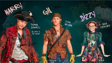 Los descendientes 2: Harry, Gil, Dizzy