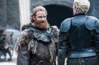 Tormund y Brienne