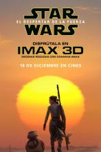 Star Wars, El despertar de la fuerza, carteles, personajes, Han Solo, Leia, Rey, Finn, Kylo Ren, imax, BB-8