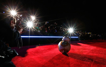 BB-8 en la alfombra roja de Hollywood