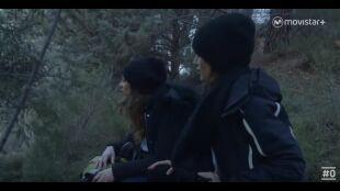 LA HUIDA - Programa 3 - Laura y Shanos escondidas en bosque