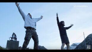La Huida. Programa 8. Toño y Robert grito montaña