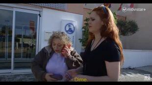 LA HUIDA - Programa 6 - Marta y Mónica  llegan al apartamento turístico y envían mensaje en clave
