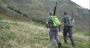 sordera del cazador