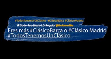 #TodosTenemosUnClásico