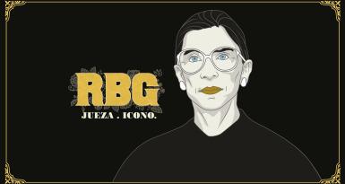 'RBG. Jueza icono'