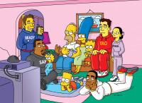 Los Simpson. T16.  Episodio 8: El pase desespiadoso de Homer y Ned