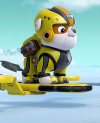 La Patrulla Canina. T4.  Episodio 24: La Patrulla salva al pingüino François / La Patrulla salva al hipopótamo de Dani, el Cañero