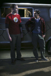 Big Bang. T9.  Episodio 7: La resonancia de Spock