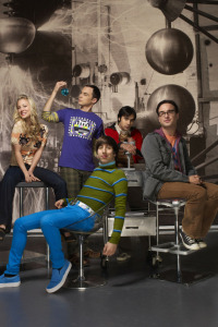 Big Bang. T3.  Episodio 22: La implementación de la escalera continua