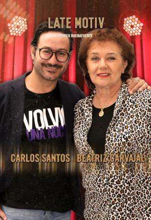 Beatriz Carvajal y Carlos Santos
