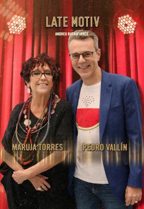 Maruja Torres y Pedro Vallín. Presenta Bob Pop