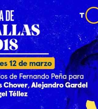 Fernando Peña/ Chover, Gardel y Téllez (12/03/2018)