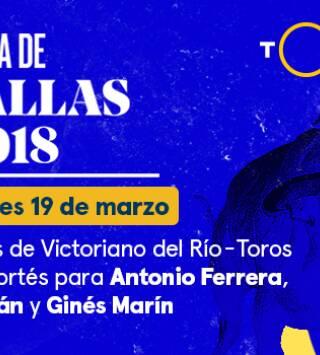 V del Río y Cortés / Ferrera, Román y G Marín (19/03/2018)