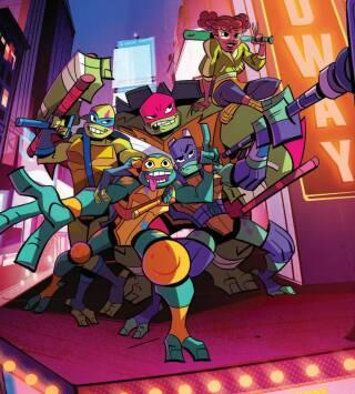 El ascenso de las tortugas ninja