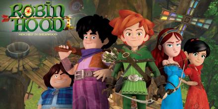 Robin Hood, travesuras en Sherwood