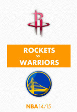 NBA - Houston Rockets - Golden State Warriors (3º Final Conferencia)