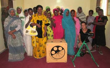 África en Cinecicleta