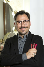 Aprende a maquillarte con David Francés - Facciones duras. Años 70