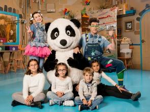 Panda y la cabaña de cartón - Jardín de piedras