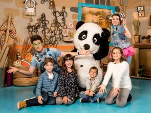 Panda y la cabaña de cartón - Un sombrero original
