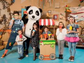 Panda y la cabaña de cartón - Marcos de cartón