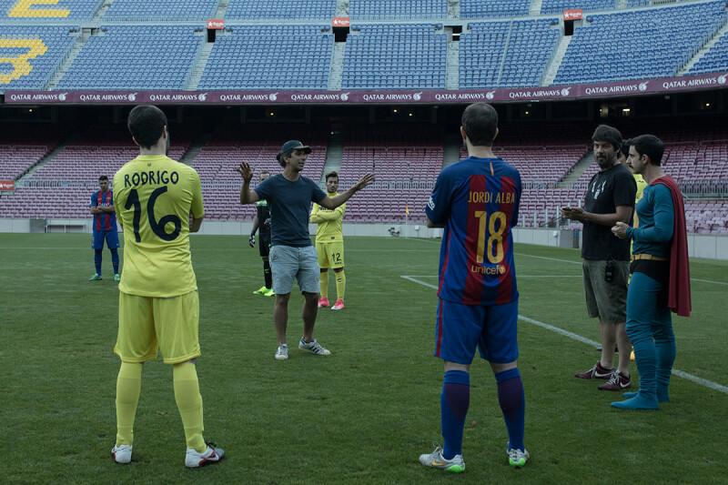 Superlópez - Rodaje en el Camp Nou