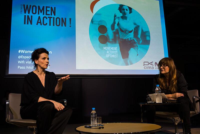 Juliette Binoche e Isabel Coixet