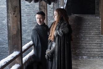 Meñique y Sansa