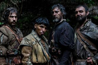 Oro, Agustín Díaz Yanes, Oscar Jaenada, Arturo Pérez Reverte, Raúl