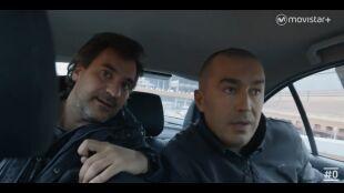 LA HUIDA. PROGRAMA 4. César y Justo fuga en taxi