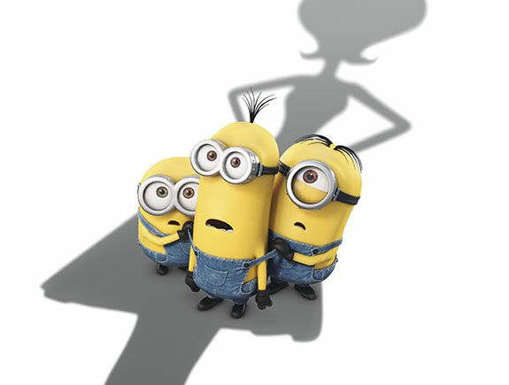 Los Minions, Bob, Stuart, Kevin,