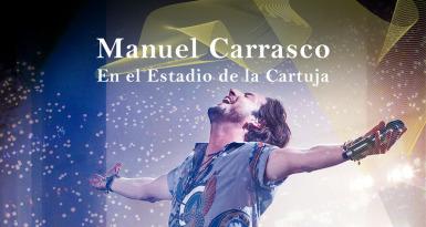 Manuel Carrasco en el Estadio de La Cartuja