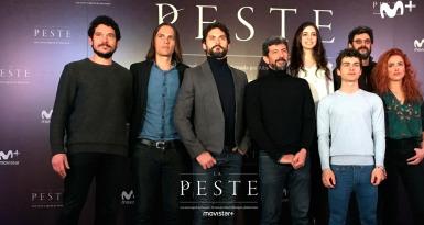El equipo de 'La Peste'