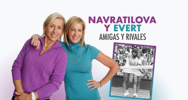 Navratilova y Evert, amigas y rivales