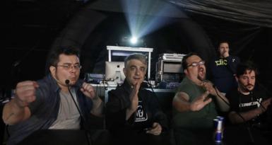 Paco Fox y sus colaboradores