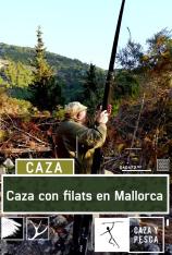 Caza con filats en Mallorca