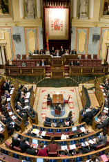 Sesión de control del Congreso
