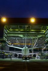 Boeing 777: mantenimiento de altura