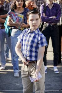 El joven Sheldon. T2.  Episodio 14: David, Goliat y un batido del fondo