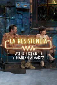 La Resistencia: Selección.  Episodio 101: Asier Etxeandia y Marian Álvarez - Entrevista - 26.09.1